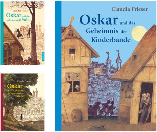 Oskar-Reihe, Covergestaltung und Vignetten, Dressler 2004-2012